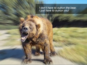 I Only Have to Outrun You, Not the Bear