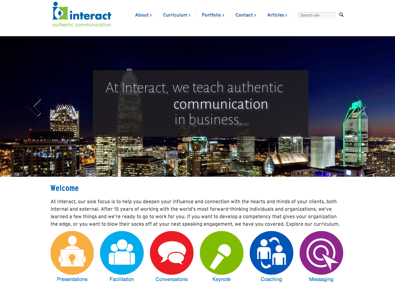 Interact – An Authentic Communication Group