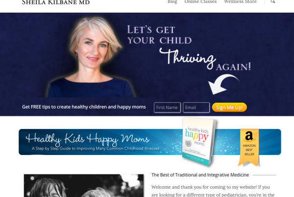 Dr. Sheila Kilbane – Integrative Pediatrician