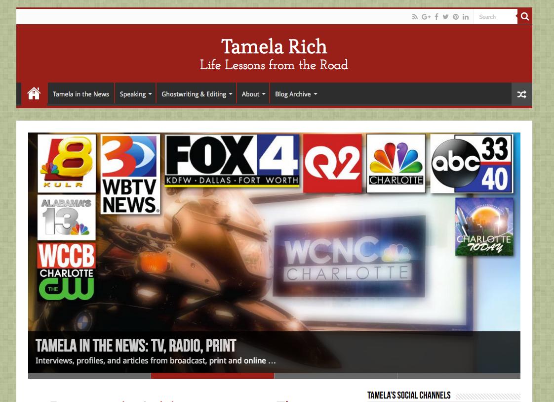 Tamela Rich - American Road Trip Expert